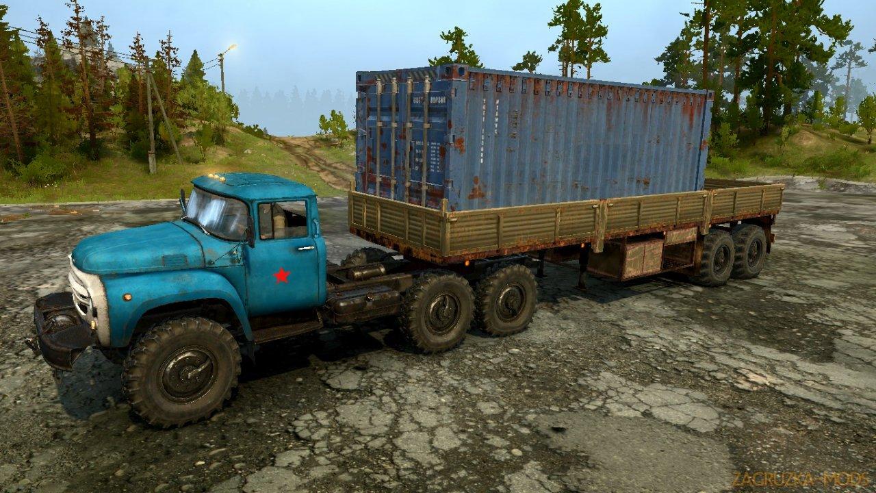 ZIL 130 Off-Road v1.0 for Spintires: MudRunner