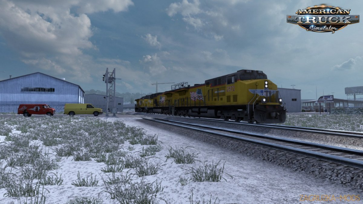 Improved Train Sounds v3.4.1 (1.37.x) for ATS