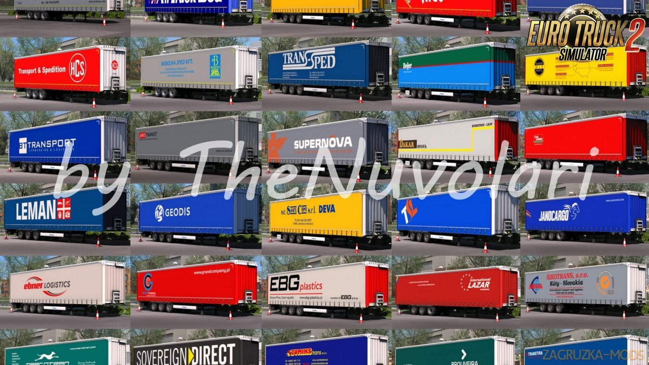 Krone Megaliner Skin Pack v1.5 by TheNuvolari (1.35.x) for ETS2