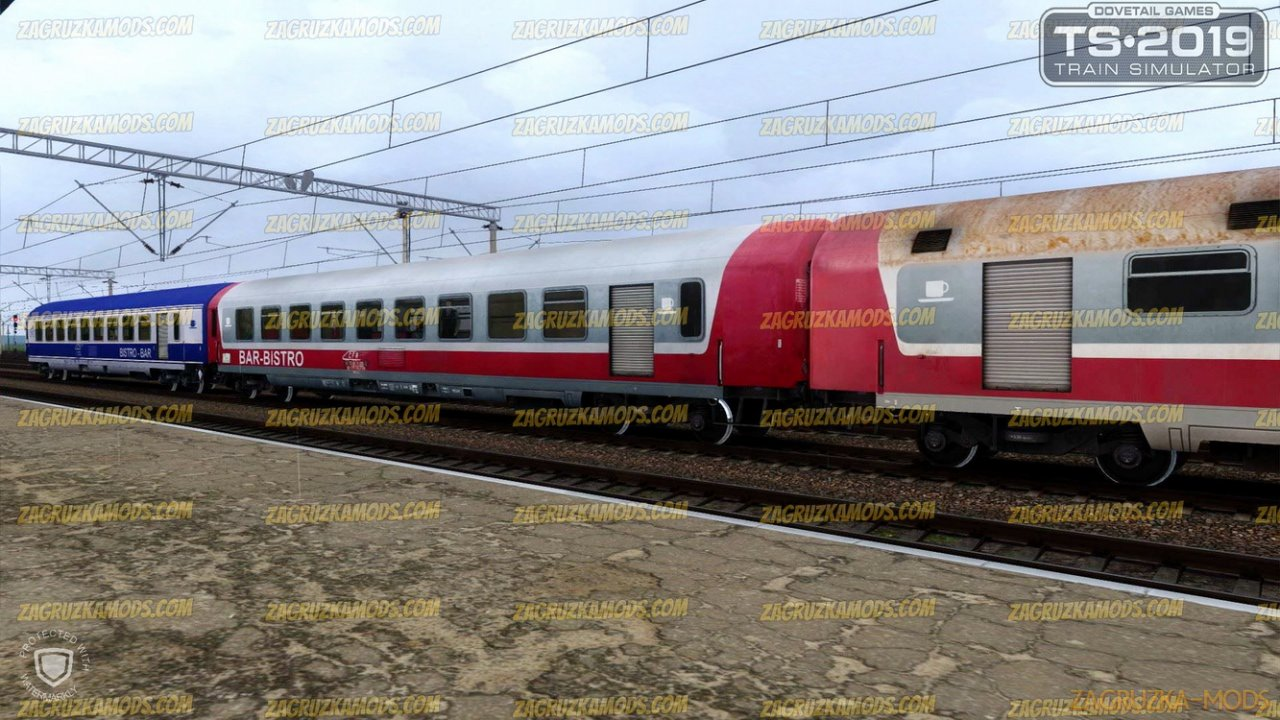 Romanian Passengers Wagons CFR 89-76 WRlee Pack v1.0 for TS 2019