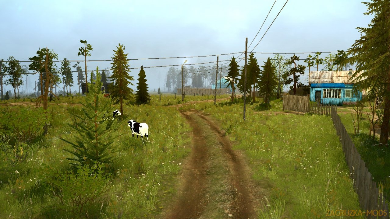 Bear Forest Map v1.0 for Spintires: MudRunner