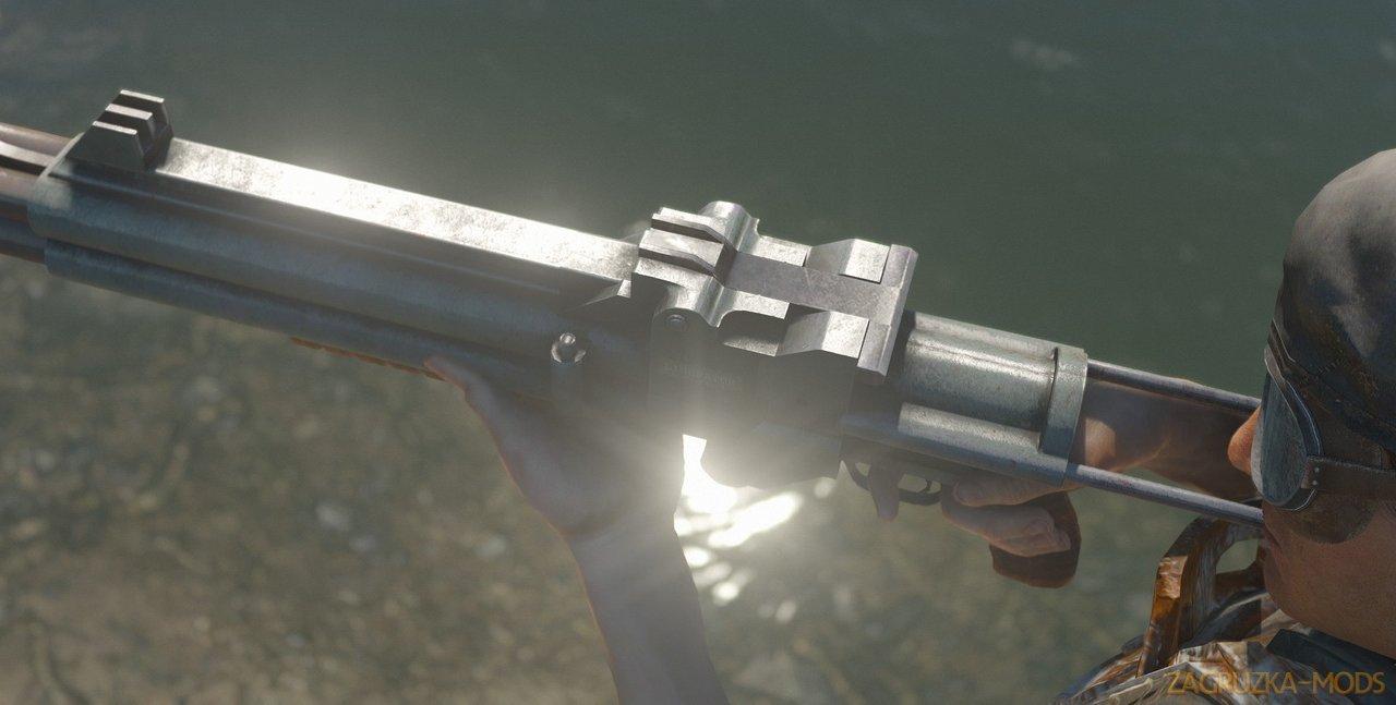 Quad-Barrel Shotgun v1.1 for Fallout 4