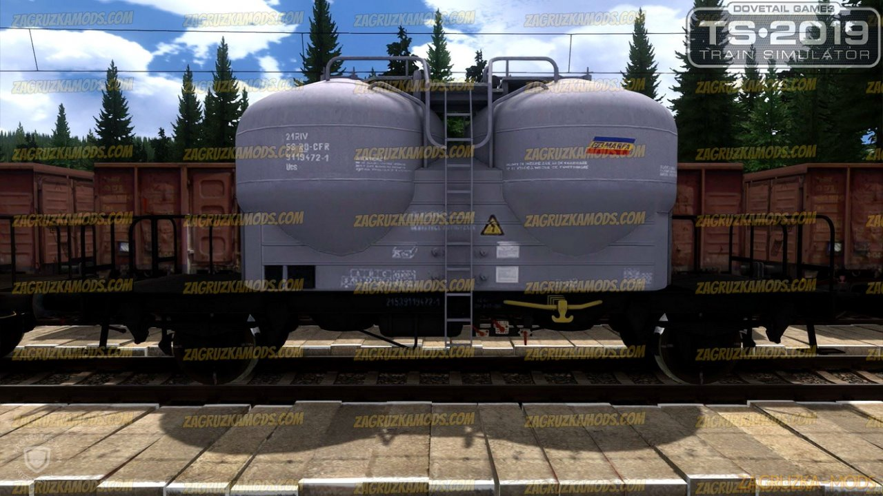 Romanian UCS Freight Wagons Pack v1.0 for TS 2019