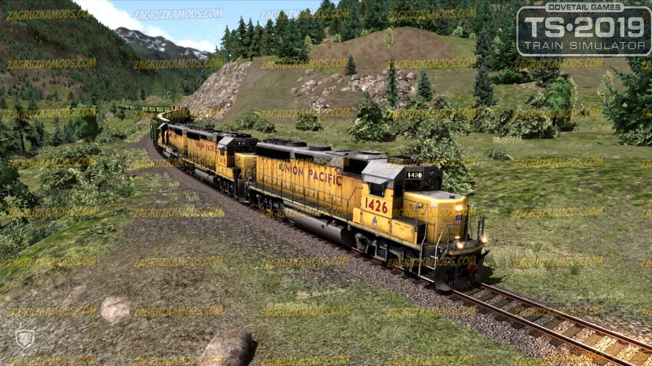 Diesel Locomotive Union Pacific EMD GP40-2 v1.0 for TS 2019