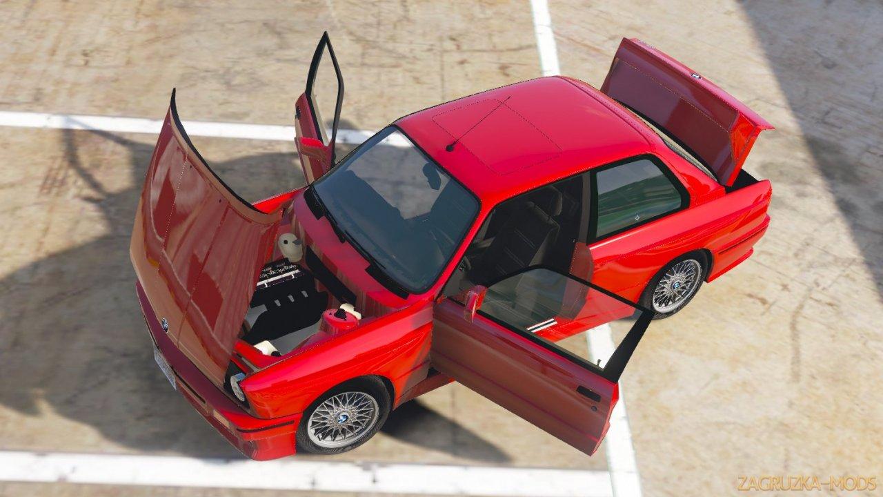 BMW E30 M3 1991 v1.8 for GTA 5