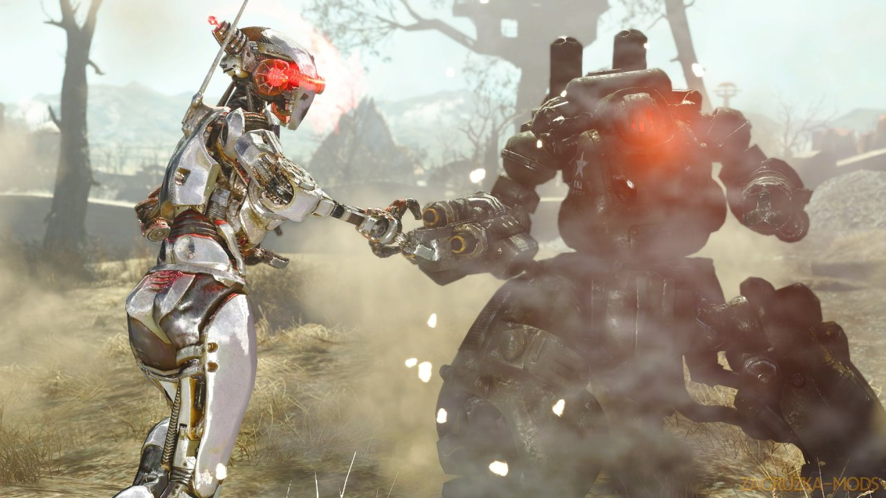 SavrenX Better Robots and HD Liberty Prime v1.0 for Fallout 4