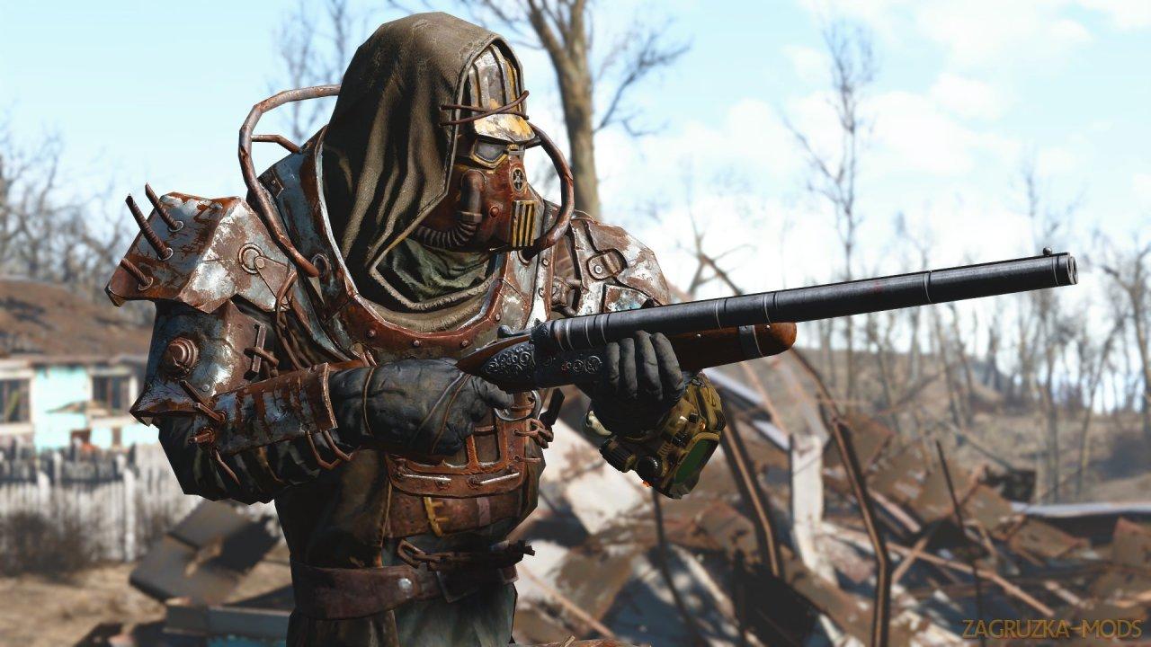 SavrenX HD Vanilla Armor v1.0 for Fallout 4