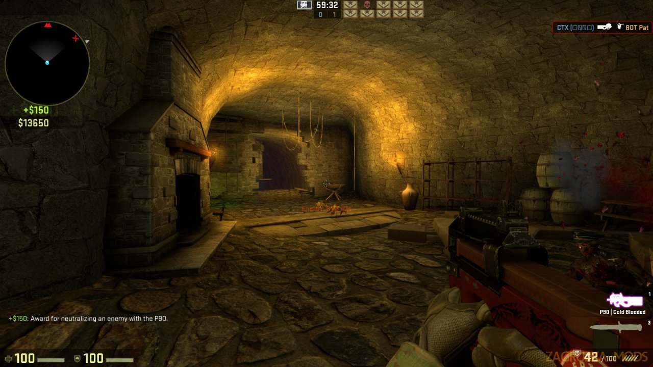 Coop Mission Haunted Map v1.0 for CSGO