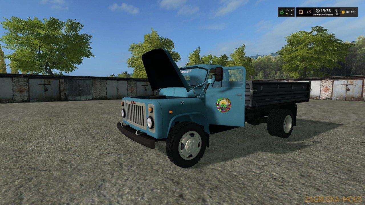 Truck GAZ-53 v2.0 for FS17