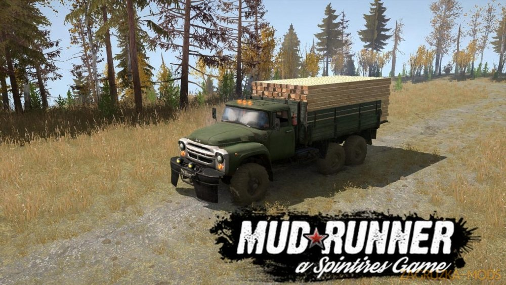 ZIL 130G 6x6 v1.1 for Spintires: MudRunner