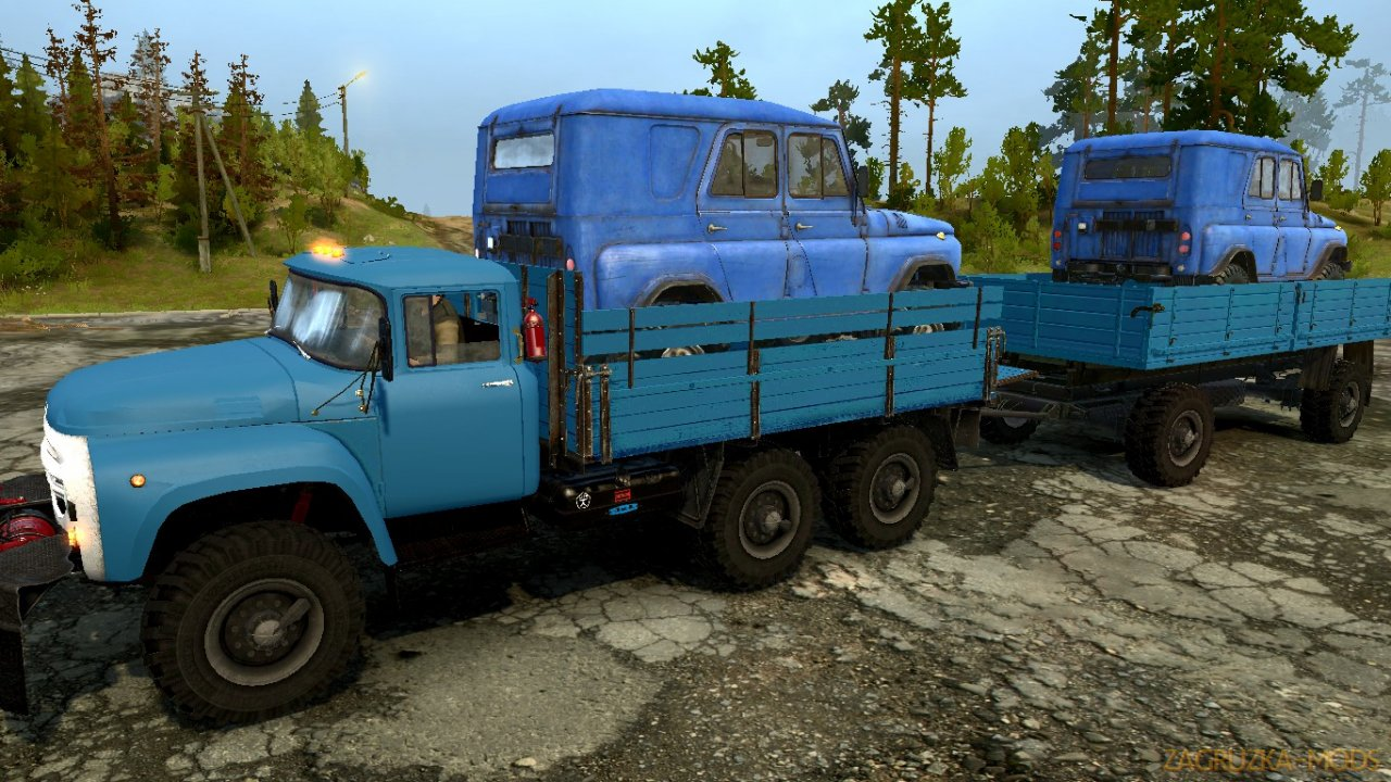 ZIL 130 6x6 v1.0 for Spintires: MudRunner