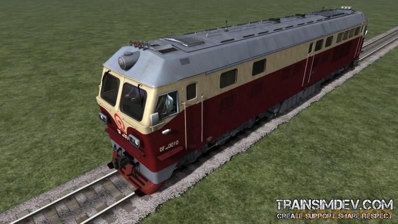 Chinese Diesel Loco PRC DF4D v1.0 for TS2017