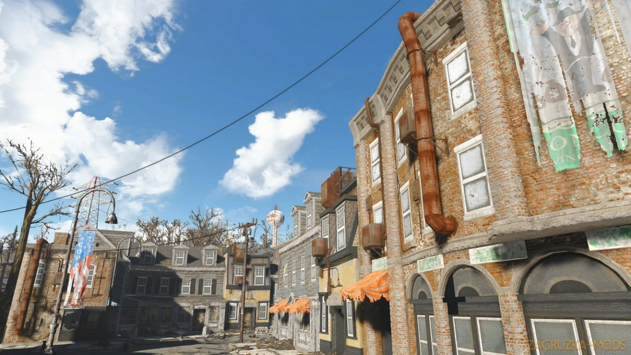 SavrenX HD 1K Buildings and Interior v1.0 for Fallout 4