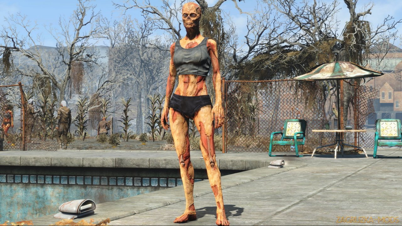 Classic Ghouls Replacer v1.0 for Fallout 4