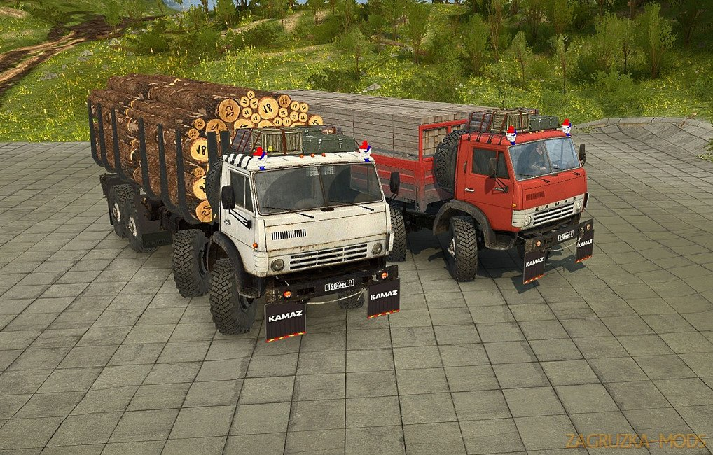 KamAZ 63501 v1.0 for Spintires: MudRunner