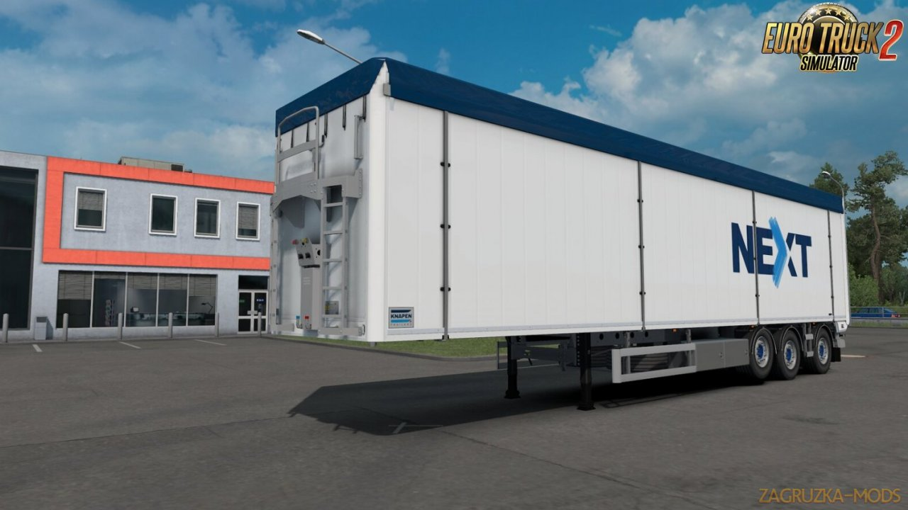 Knapen K100 Trailers v1.2 by Kast (1.35.x) for ETS2