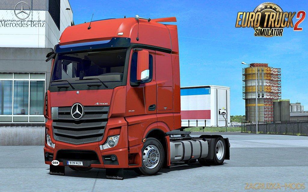 Mercedes Actros MP4 v1.4 Edit by Alex (1.35.x) for ETS2