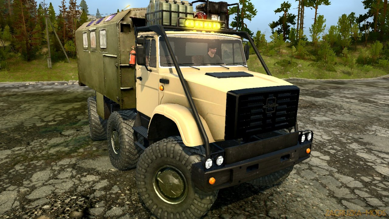 ZIL 4972 v1.0 for Spintires: MudRunner