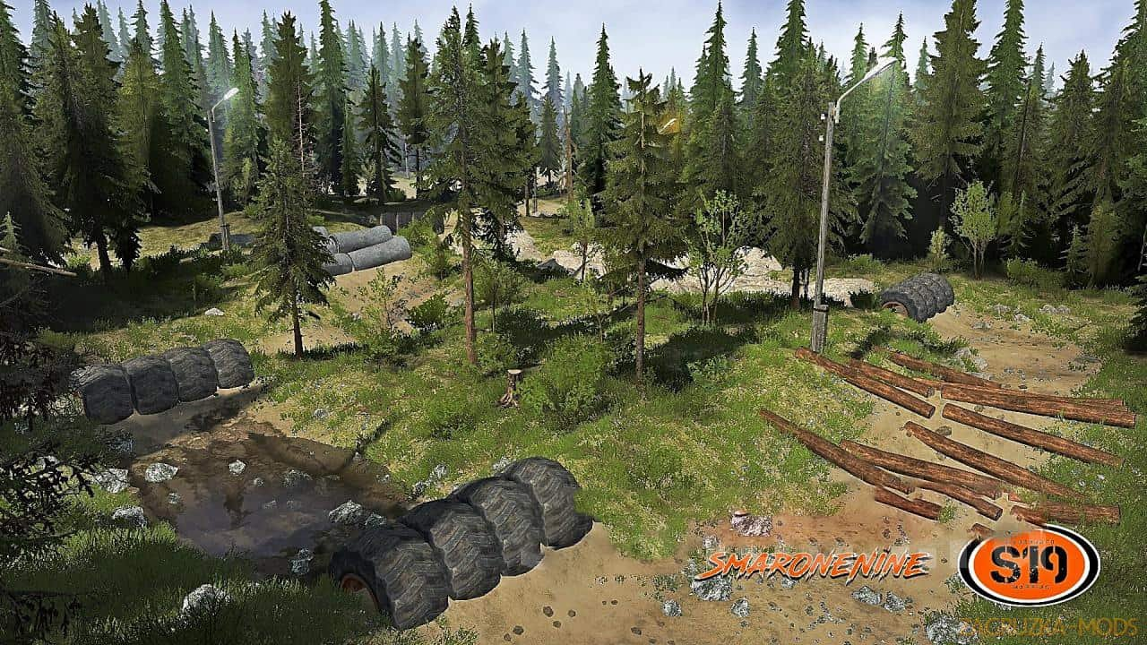 Hometown Trailing Map v1.0 for Spintires: MudRunner