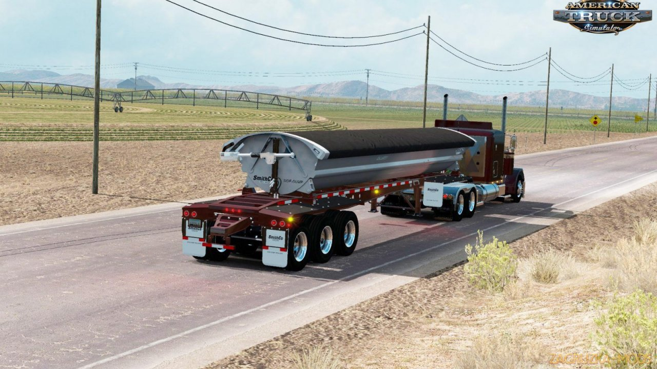 Trailer Smithco Side Dump v2.0 (1.35.x) for ATS