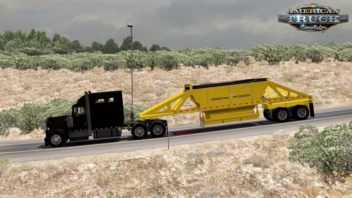 Dump Trailer Trail King Owned v1.0 (1.35.x) for ATS