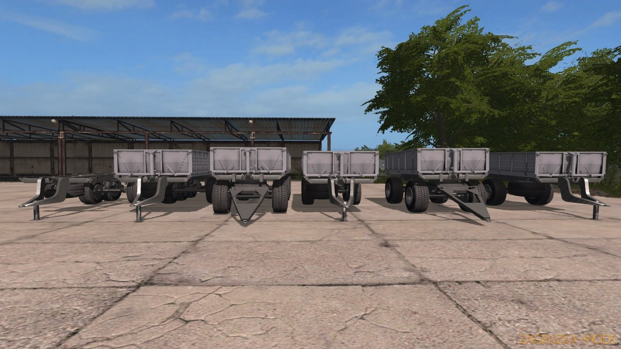 Pack Trailers PTS v0.0.1.4 for FS17
