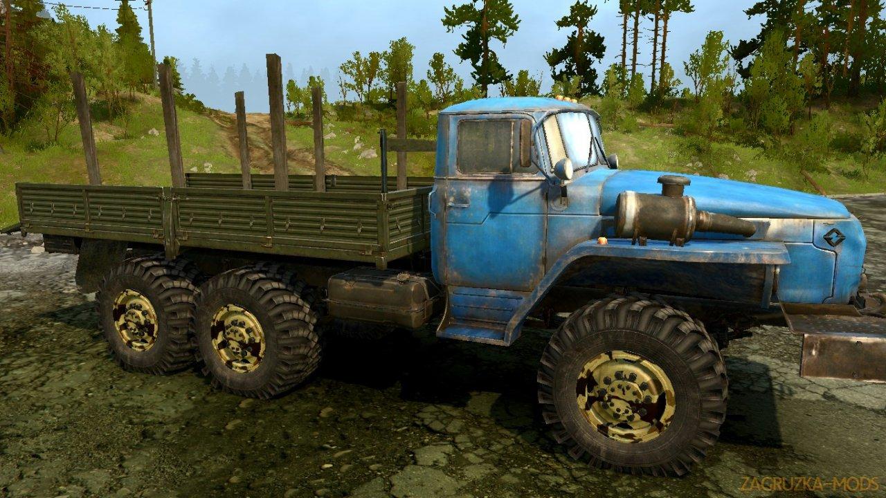 Off-Road Terrain Wheels v1.0 for SpinTires: MudRunner