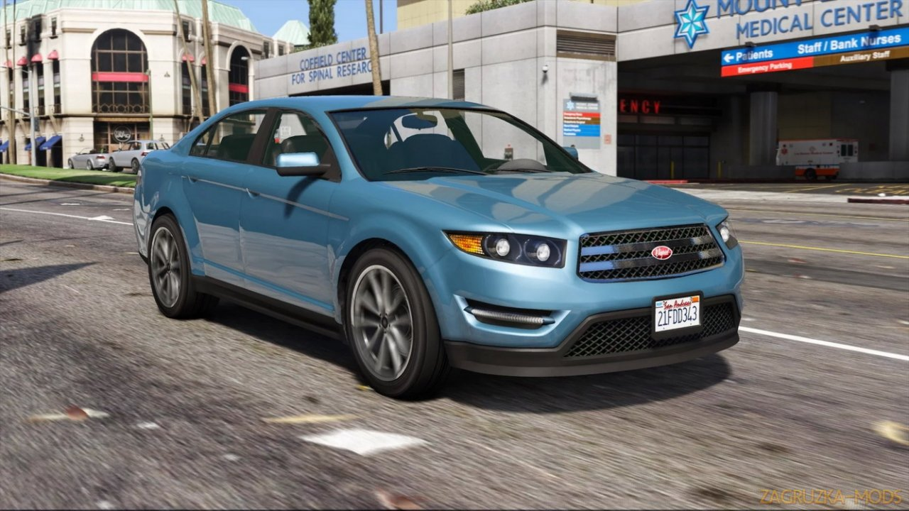 Vapid Torrence SSO v1.1a for GTA 5