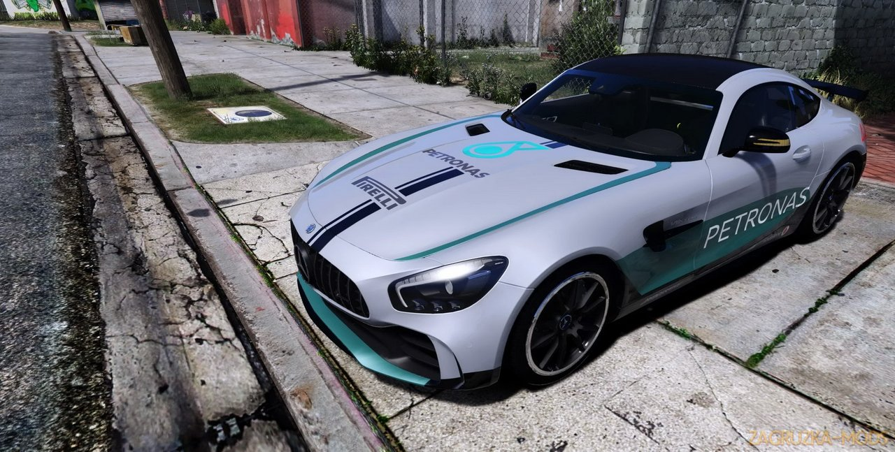 Mercedes Benz AMG GT-R 2017 v1.0 for GTA 5