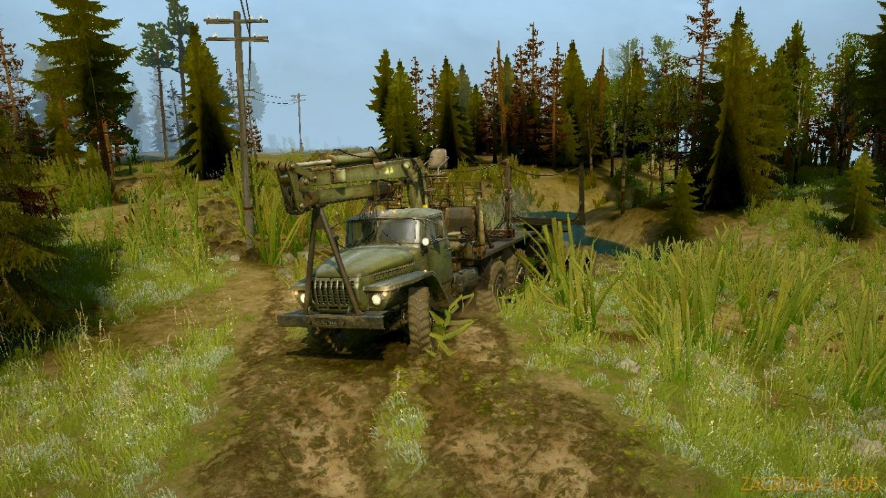 The North Russia Map v1.0 for Spintires: MudRunner