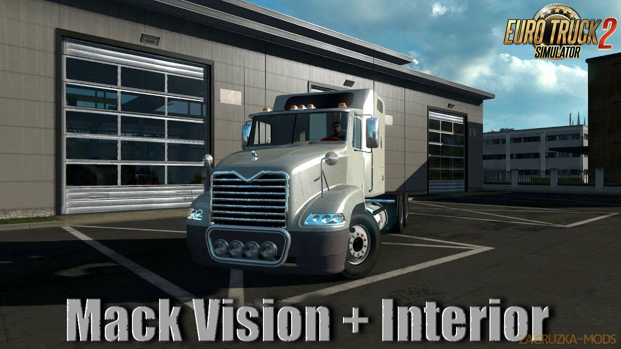Mack Vision + Interior v1.0 (1.35.x) for ETS2