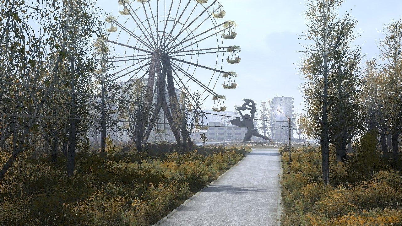 Somewhere in Pripyat 2 Map v1.0 for Spintires: MudRunner