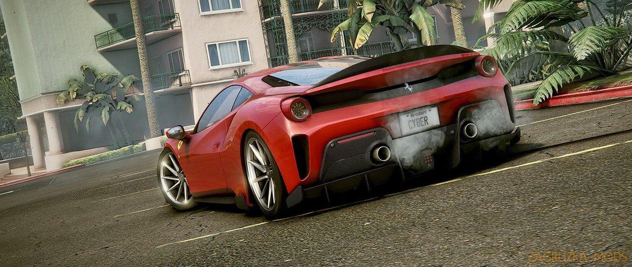 Ferrari Pista 488 2018 v2.0 for GTA 5