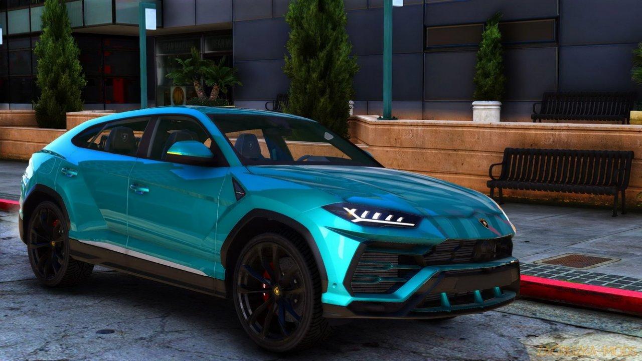 Lamborghini Urus v1.4 for GTA 5