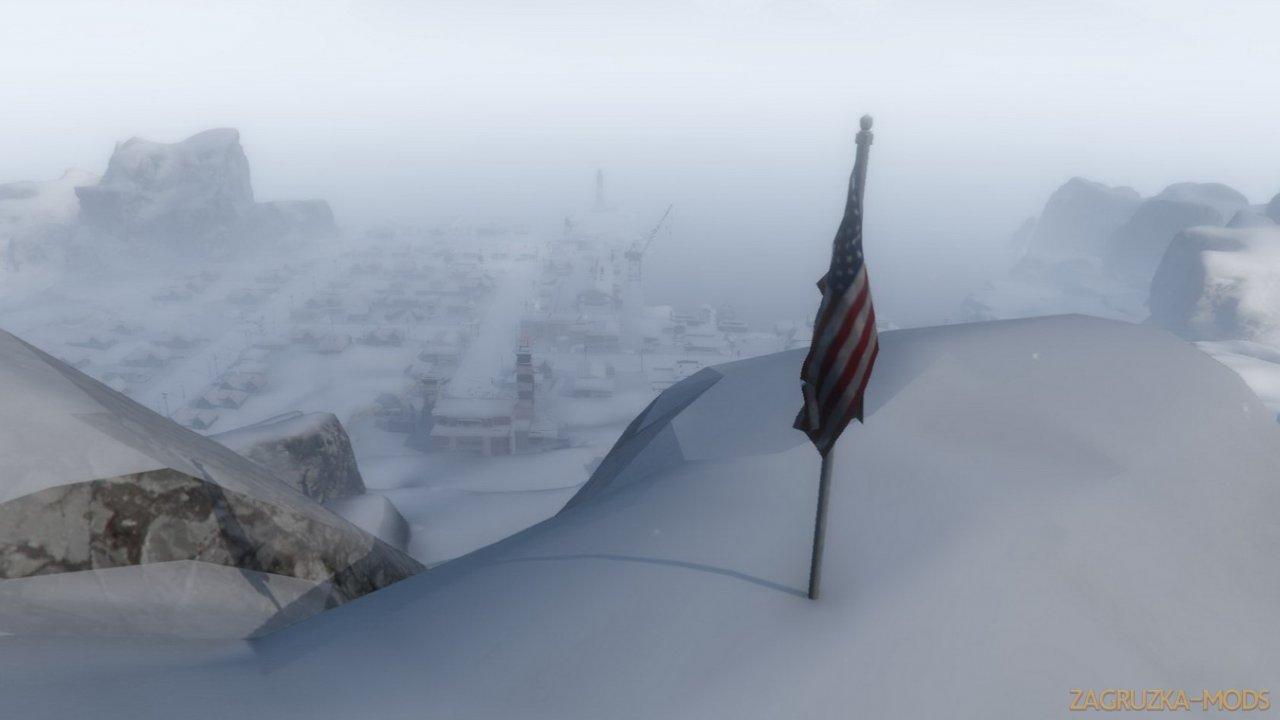 Frozen Island Map v2.0 for GTA 5