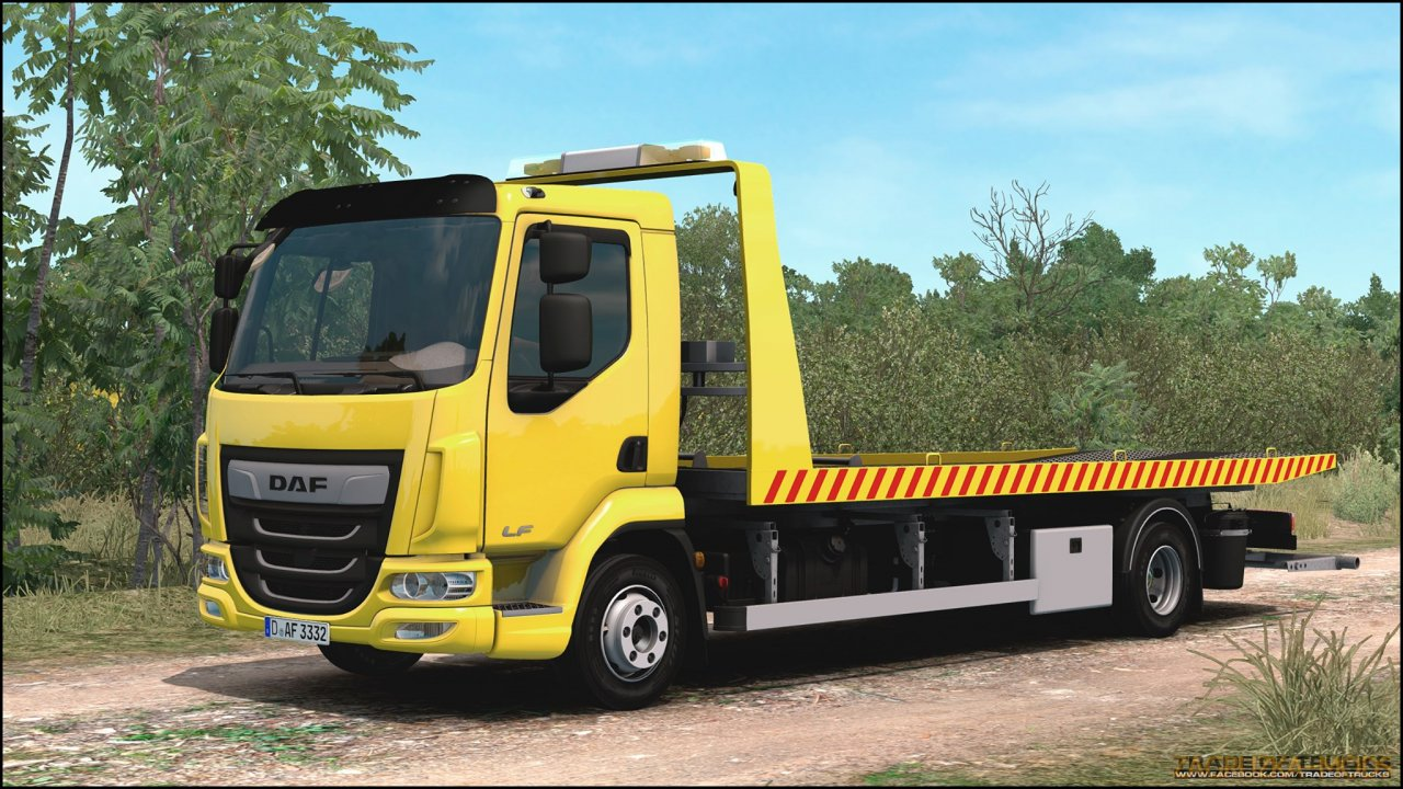 Daf LF + Interior v1.0 (1.35.x) for ETS2