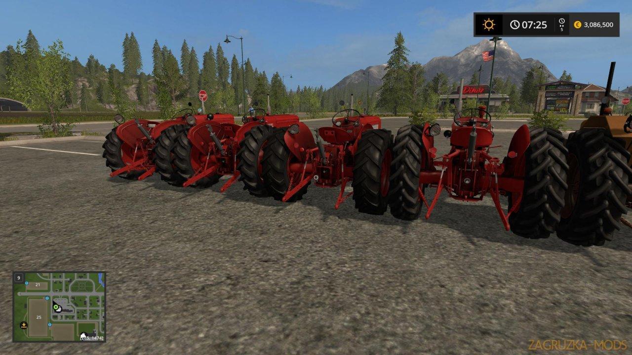 Classic Valmet Pack Tractors v1.0 for FS17