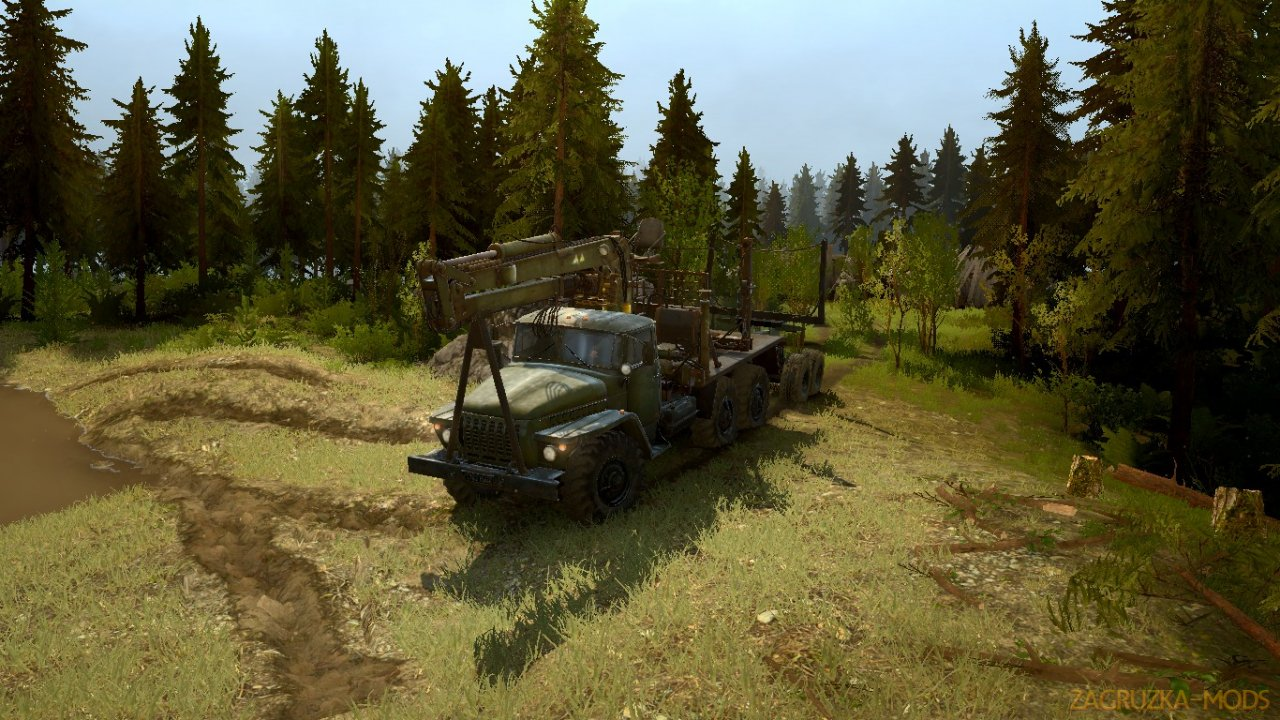 Dangerous Firs Map v1.0 for Spintires: MudRunner