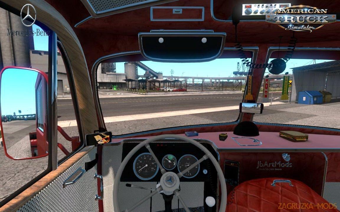 Mercedes-Benz LP-331 + Interior v2.2 (1.35.x) for ATS