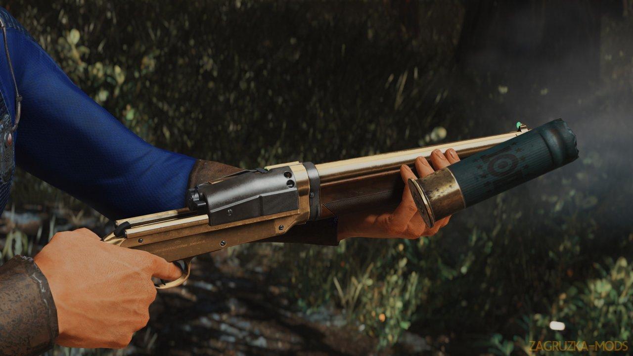 Sjogren Inertia Shotgun v1.0 for Fallout 4