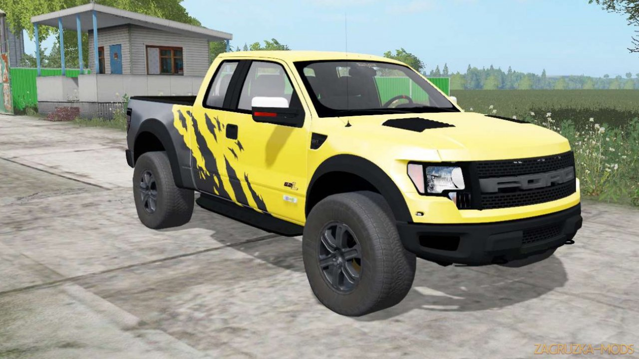 Ford F-150 SVT Raptor SuperCab 2009 v1.0 for FS17
