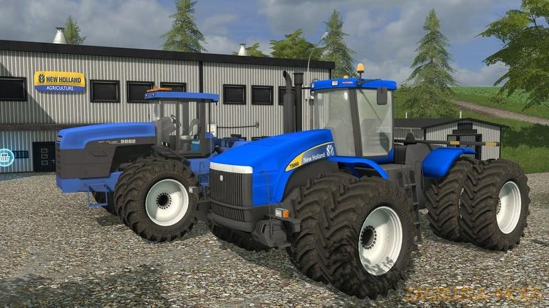 Tractor New Holland 9882 1996 v1.0 for FS17