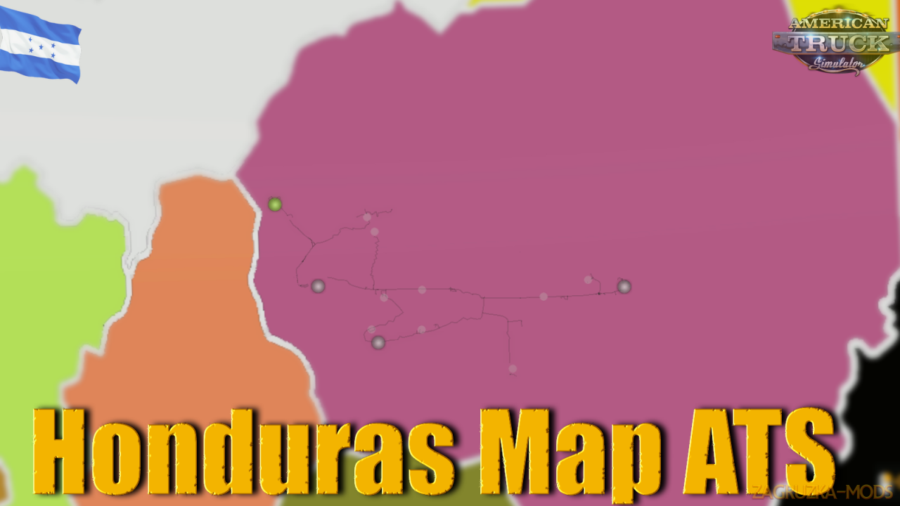 Honduras Map v1.0 (1.35.x) for ATS