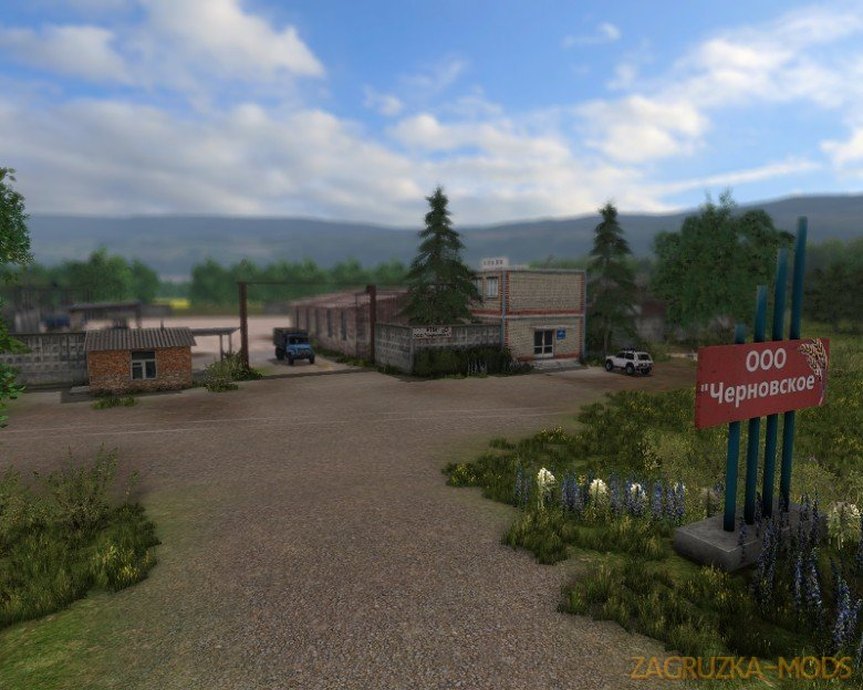 OOO Chernovskoe Map v0.7.1 for FS17