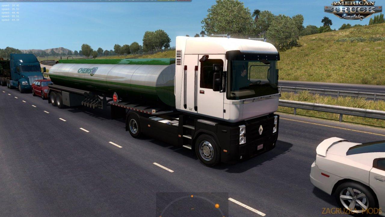 Renault MAGNUM Pack Trucks in Traffic v1.0 (1.35.x) for ATS