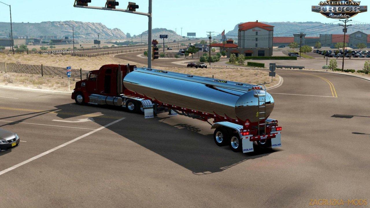 Trailer Polar Tanker Ownable v1.0 (1.35.x) for ATS