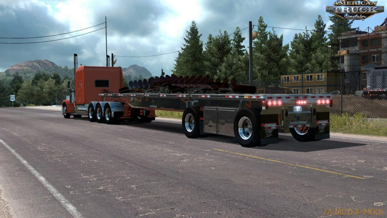 Trailer Corbys Manac Darkwing v1.1 (1.35.x) for ATS