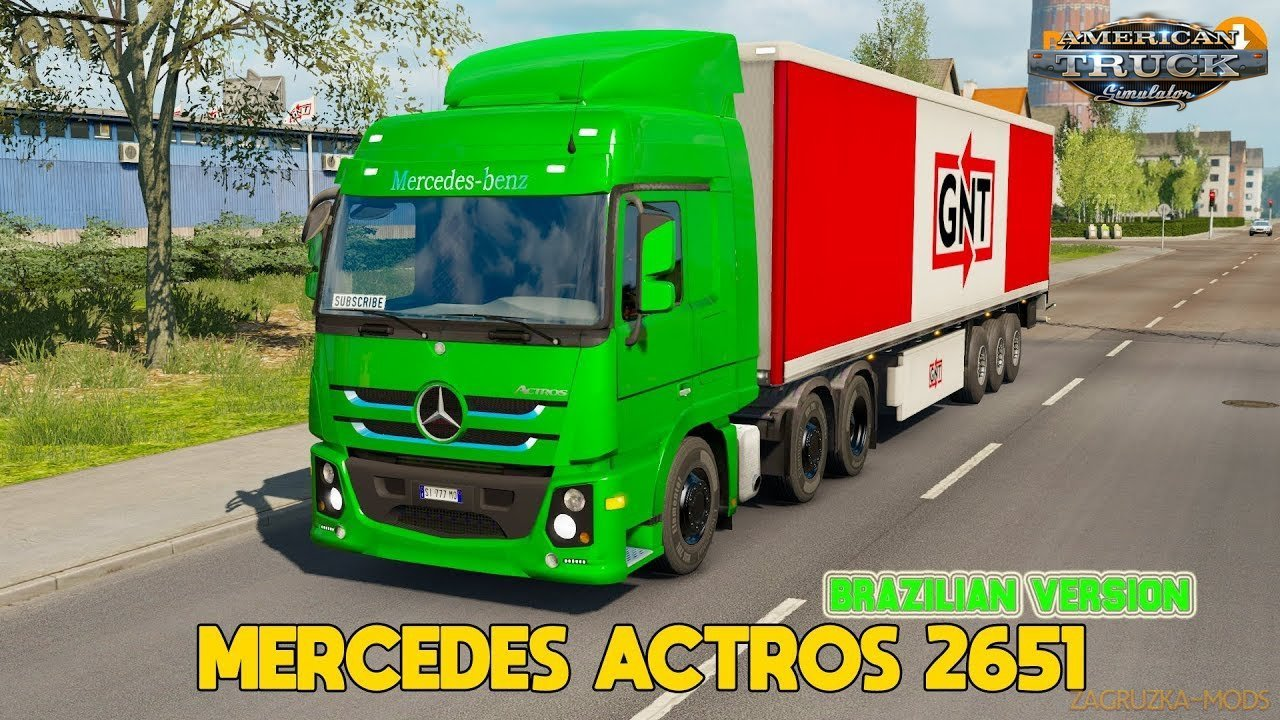 Mercedes Benz Actros 2651 + Interior v1.0 (1.35.x) for ATS
