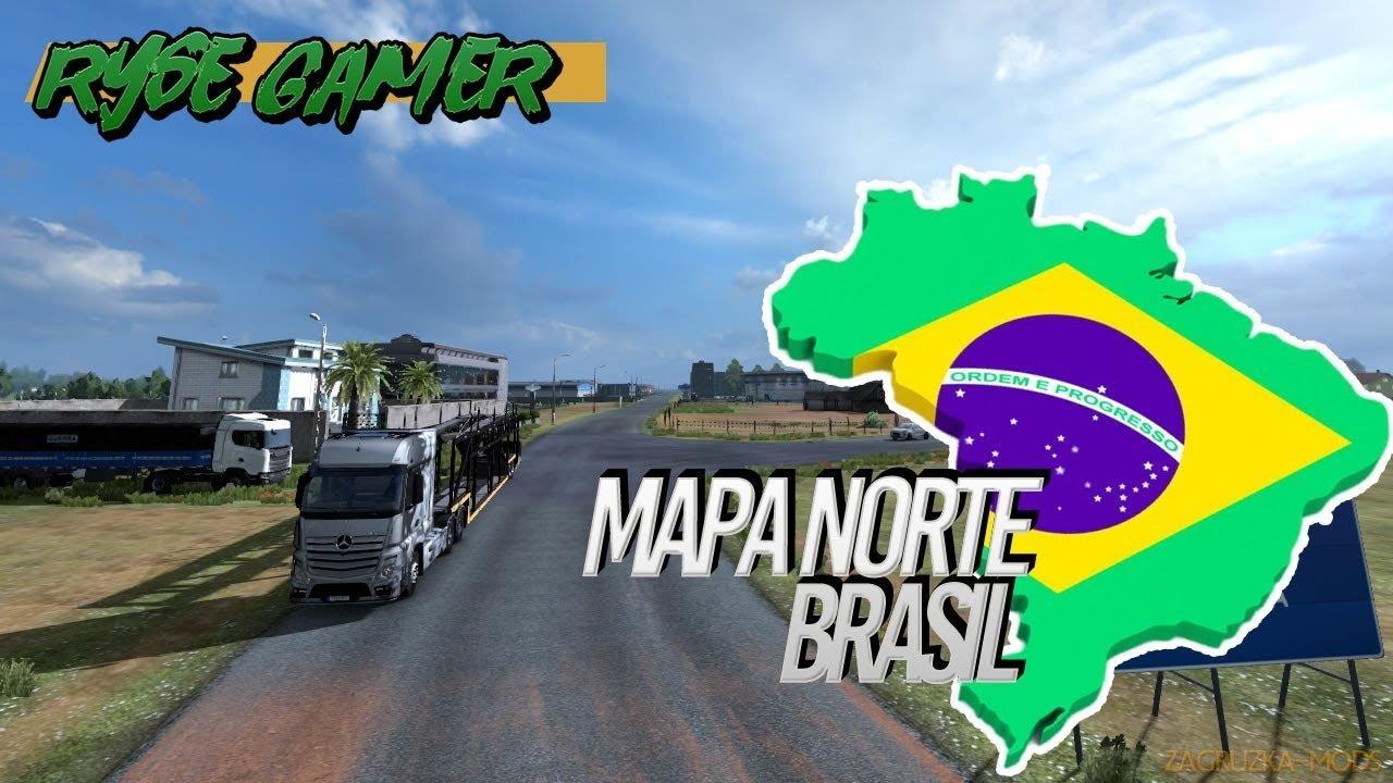 Brazil North Map v5.2 (1.38.x) for ETS2