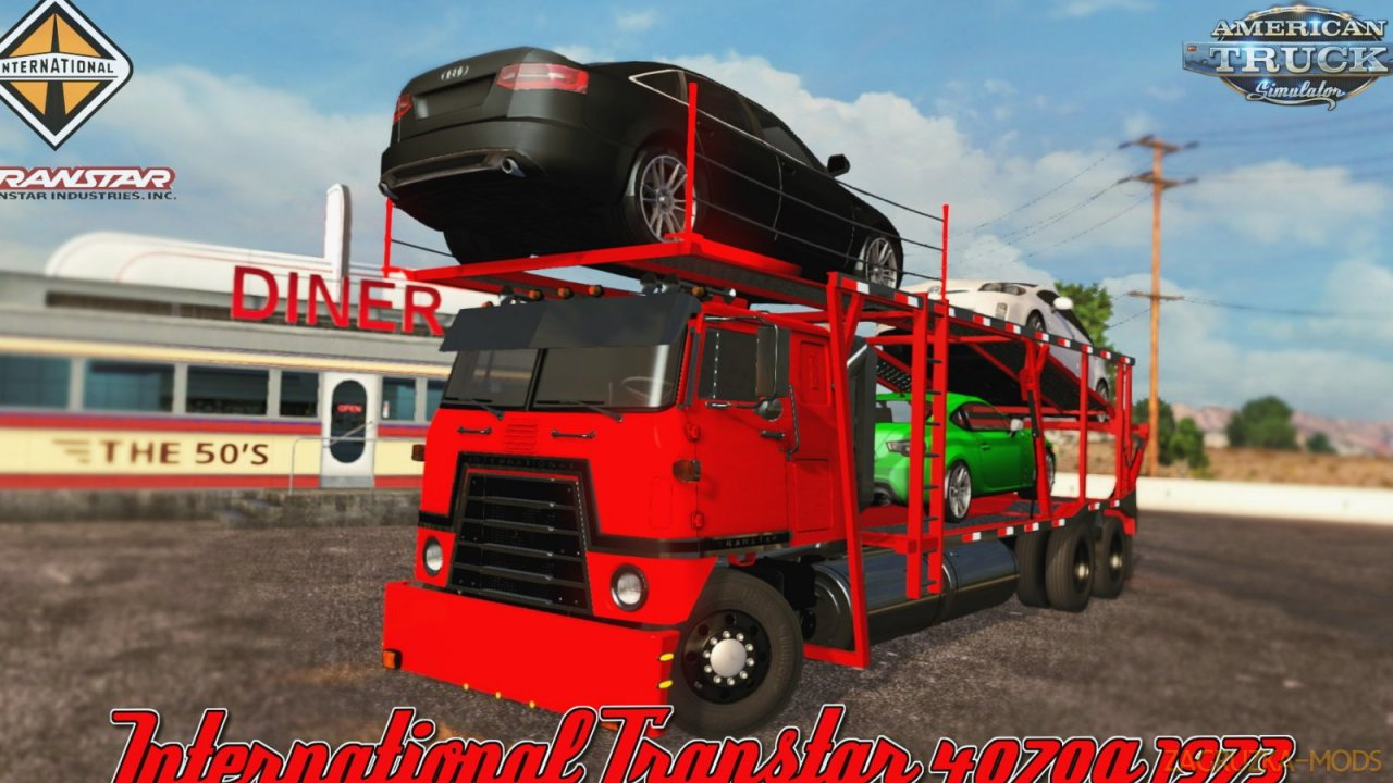 International Transtar 4070A 1973 v1.0 (1.35.x) for ATS